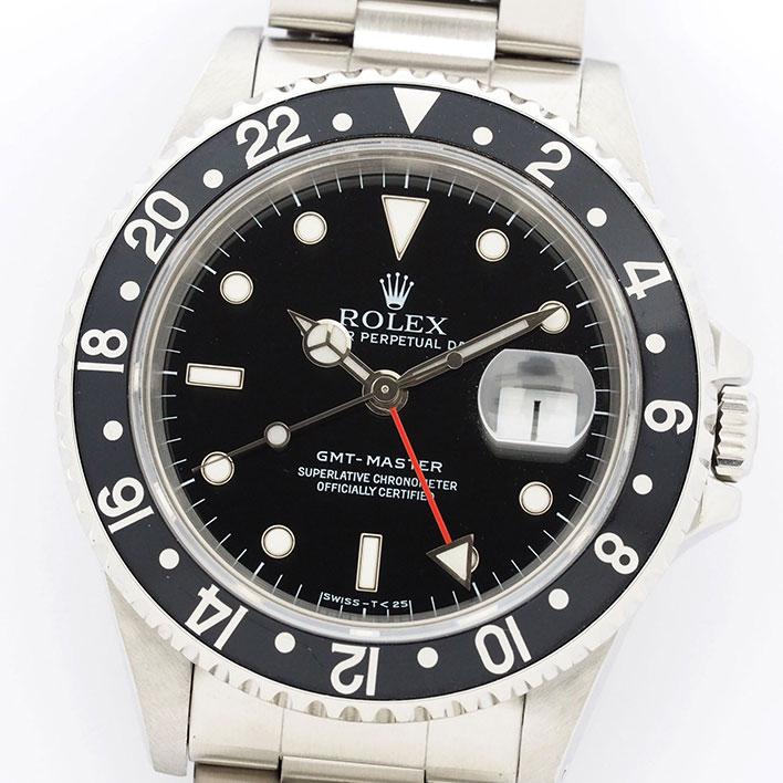 ロレックス GMTマスターI Ref. 16700 メンズ ROLEX GMT-MASTER I【中古】【腕時計】