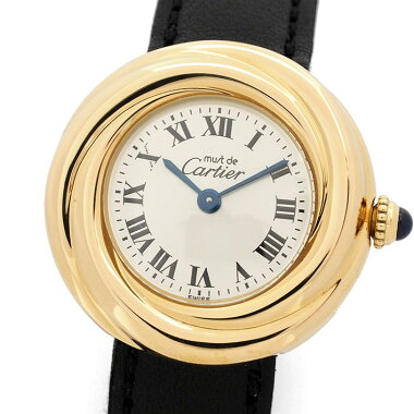 Cartier Mast Trinity Ref. 2735 Ladies CartiermustTRINITY [pre] [Watch]