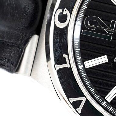 ブルガリディアゴノカリブロ303Ref.DG42BSLDCHメンズBVLGARIDiagonoCALIBRO303【中古】【腕時計】