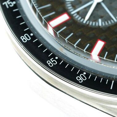 オメガスピードマスターレーシングクロノメーターミハエルシューマッハRef.355259メンズOMEGASpeedmasterRACINGCHRONOMETERMICHAELSCHUMACHER【中古】【腕時計】
