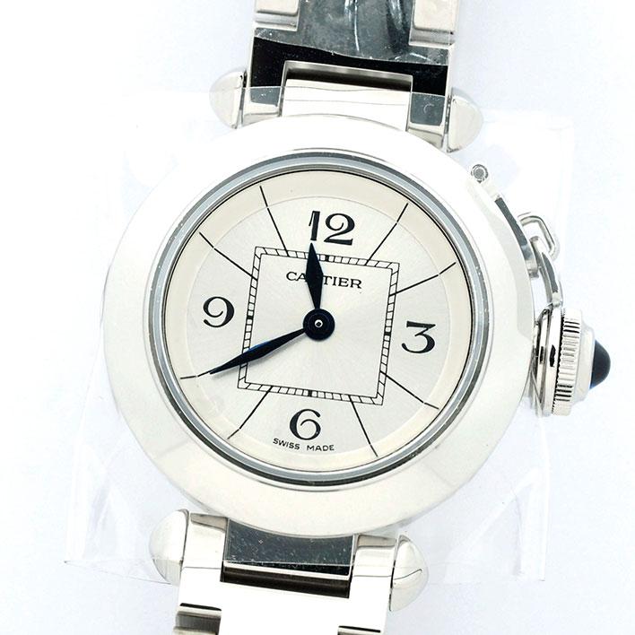 【新古品】 カルティエ ミス パシャ Ref. W3140007 メンズ Cartier MISS PASHA 【中古】【腕時計】