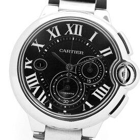 【GOODA掲載】【厳選商品】【中古】カルティエ バロン ブルー クロノグラフ Ref. W6920052 メンズ Cartier BALLON BLEU CHRONOGRAPH【腕時計】 ギフト プレゼント