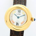 【最大P38倍】【中古】カルティエ マスト トリニティ 3 カラー レディース Cartier must TRINITY 3color【腕時計】 ギ…