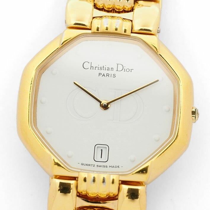 ディオール デポーズ Ref. 45154 レディース Dior DEPOSE【中古】【腕時計】