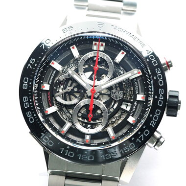 タグホイヤーカレラホイヤー01クロノRef.CAR2A1WメンズTAGHeuerCARRERAHEUER01CHRONO【中古】【腕時計】