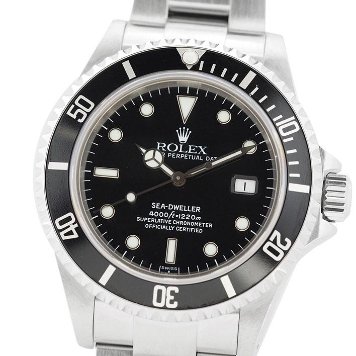 ロレックス シードゥエラー Ref. 16600 メンズ ROLEX SEA-DWELLER 【中古】【腕時計】