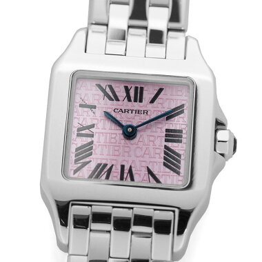 Cartier Santos de Moiselle (2008 Christmas Limited Model) Ref.W2510002 Ladies CartierSantosDemoiselle (Christmaslimitedmodelin2008) [Pre] [Watch]