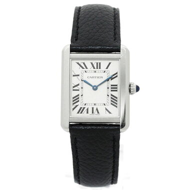 [New old goods] Cartier tank solo SMRef. CRWSTA 0030 Mens CartierTANKSOLOSM [pre-owned] [Watch]