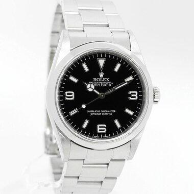 ロレックスエクスプローラーIRef.14270メンズROLEXEXPLORERI【中古】【腕時計】