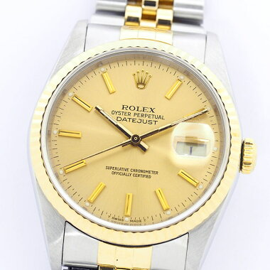 Rolex Datejust Ref.16233 Men's ROLEXDATEJUST [Used] [Watch]