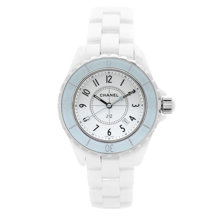 【中古】シャネル J12 ソフト ミント Ref. H4464 レディース CHANEL J12 SOFT MINT【腕時計】 ギフト プレゼント