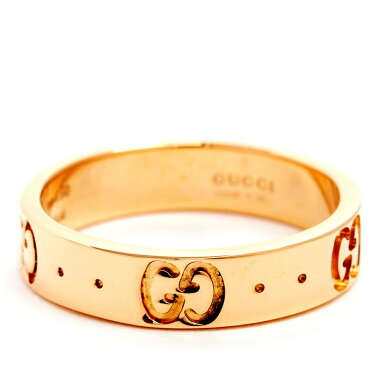 [New Finished] Gucci ICON Icon Ring 18 Gold Pink Gold No. 7 [Used] [Ring]