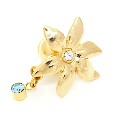 Pierre Cardin Bijoux Flower Motif Brooch Pins Tuck Pin Type [Used] [Brochs]