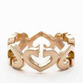 カルティエ 指輪 リング Cハートリング 18金イエローゴールド サイズ51 ブランド Cartier ギフト プレゼント 新品仕上げ済み 送料無料