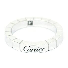 カルティエ 指輪 リング ラニエールリング 1P ダイヤモンド 18金ホワイトゴールド 48 ブランド Cartier ギフト プレゼント 送料無料 新品仕上げ済み ご褒美 クリスマス 冬