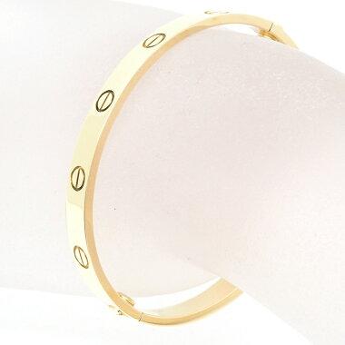 Cartier Love 18K Yellow Gold [Bracelet]