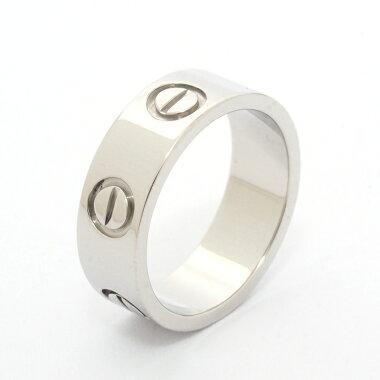 【新品仕上げ済み】カルティエラブリングプラチナ95046【指輪】