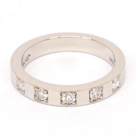 【新品仕上げ済み】ブルガリ マリーミー 5ダイヤモンド リング Pt950 46【指輪】