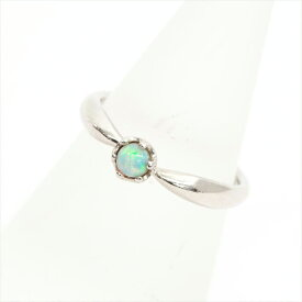 [Used] COMME CA DU MODE Comsade Mode 7.5 1P Opal Ring No. 7.5 Platinum 950 / Opal [Ring] Gift Present [GOODA]