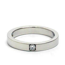 [Pre-owned] Bulgari Marie Me 1P Diamond Ring Platinum 950 No. 8 [Ring] Gift Present [GOODA] [New Finished]