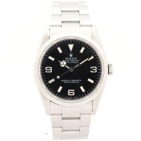 【中古】【出品前にオーバーホール・新品仕上げ済み】ロレックスエクスプローラー I14270メンズROLEX EXPLORER I 【腕時計】