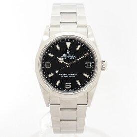 【中古】【出品前にオーバーホール・新品仕上げ済み】ロレックスエクスプローラー I114270メンズROLEX EXPLORER I 【腕時計】