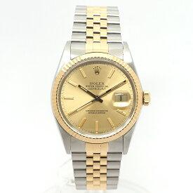 【中古】【出品前にオーバーホール・新品仕上げ済み】ロレックスデイトジャスト16013メンズROLEX DATEJUST 【腕時計】