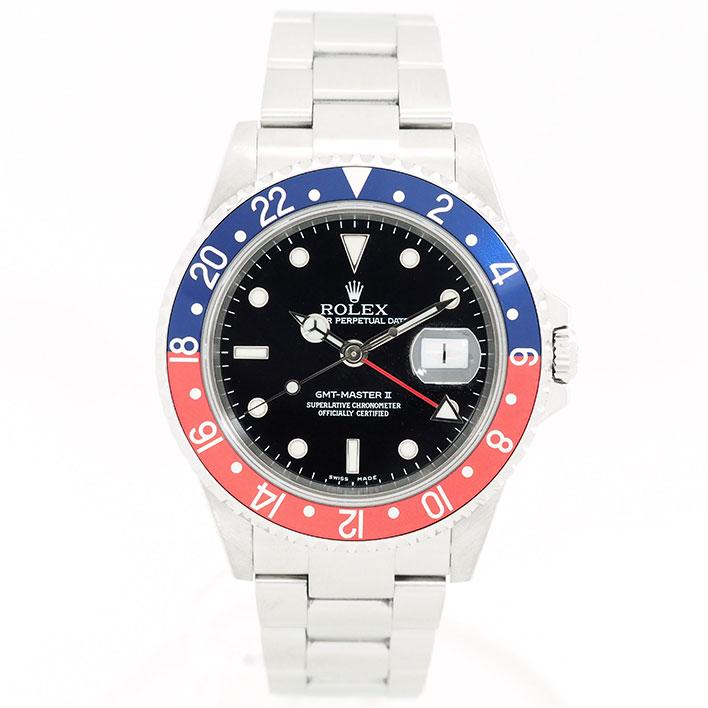 【中古】ロレックス GMTマスターII Ref. 16710 メンズ ROLEX GMT-MASTER II【腕時計】