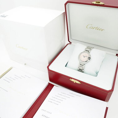 【中古】カルティエバロンブルーRef.W6920038レディースCartierBALLONBLEU【腕時計】
