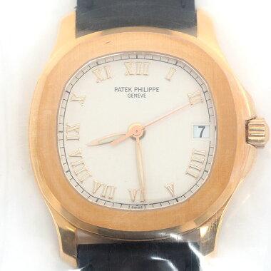 【中古】【未研磨品】パテック・フィリップアクアノートRef.5060SR-010メンズPATEKPHILIPPEAQUANAUT【腕時計】