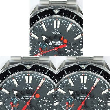 【中古】オメガシーマスターレーシングクロノメーター300Ref.25695200メンズOMEGASeamasterRACINGCHRONOMETER300【腕時計】