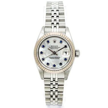 【中古】ロレックスデイトジャストRef.79174レディースROLEXDATEJUST【腕時計】