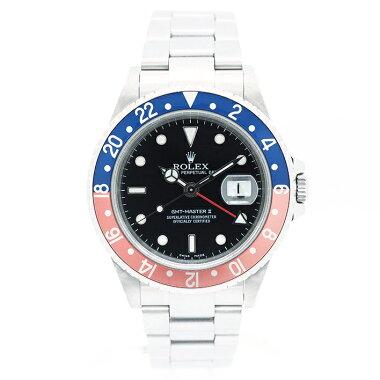 【中古】ロレックスGMTマスターIIRef.16710TメンズROLEXGMT-MASTERII【腕時計】