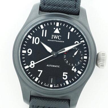 [Used] [Unpolished] International Watch Company Big Pilot Watch Top Gun Ref.IW502001 Men's IWCBigPilot'sWatchTOPGUN [Watch]