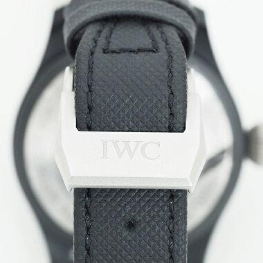【中古】【未研磨品】インターナショナル・ウォッチ・カンパニービッグパイロットウォッチトップガンRef.IW502001メンズIWCBigPilot'sWatchTOPGUN【腕時計】