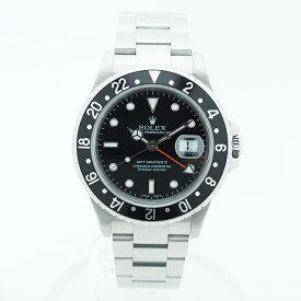 ロレックス 腕時計 GMTマスターII Ref. 16710LN メンズ ROLEX GMT-MASTER II ブランド ROLEX 送料無料 中古 ギフト プレゼント ご褒美 秋