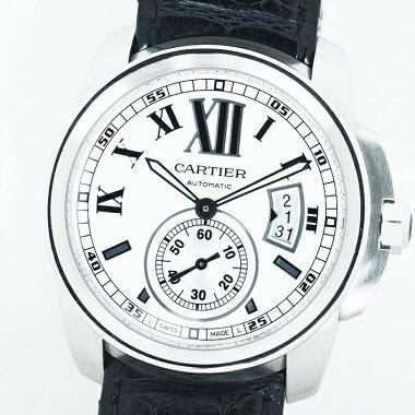 [Used] Cartier Caliber de Cartier Ref.W7100037 Men's Cartier Calibrede Cartier [Watch]