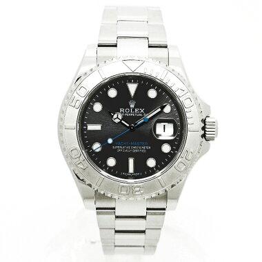 【中古】ロレックスヨットマスターロレジウムRef.116622メンズROLEXYACHT-MASTERRoresium【腕時計】