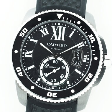 [New Arrival] [Used] Cartier Calibur de Cartier Carbon Diver Ref.WSCA0006 Men CartierCalibredeCartierCarbonDiver [Watch]