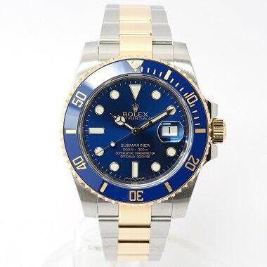 【中古】ロレックスサブマリーナRef.116613LBメンズROLEXSUBMARINER【腕時計】