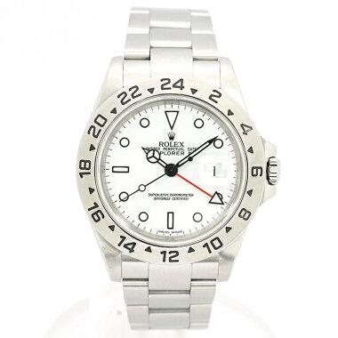 【中古】ロレックスエクスプローラーIIRef.16570メンズROLEXEXPLORERII【腕時計】