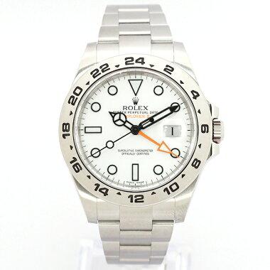 【中古】ロレックスエクスプローラーIIRef.216570メンズROLEXEXPLORERII【腕時計】