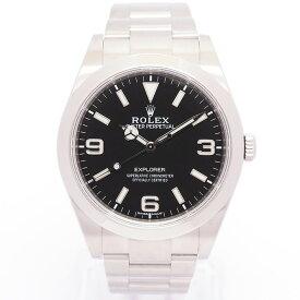 【返品OK】【中古】ロレックス エクスプローラー I Ref. 214270 メンズ ROLEX EXPLORER【腕時計】【GOODA掲載】