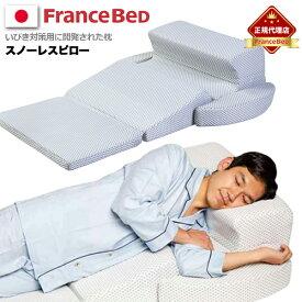 【フランスベッド正規販売店】ピロー FRANCEBED フランスベッド スノーレスピロー/ ホワイト