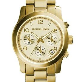 マイケルコース 腕時計 レディース MICHAELKORS MK5055 Runway イエロ−ゴ−ルド TU0062