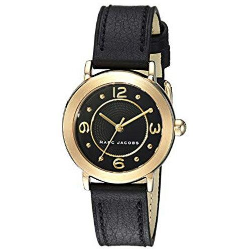 マークジェイコブス 時計 MARC JACOBS ライリー レザー レディース ウォッチ 腕時計 ブラック MJ1475 【ブランド 新品 送料無料 誕生日 記念日 お祝い プレゼント 正規 人気 レディース 安心 保証 ギフト 最安値に挑戦】