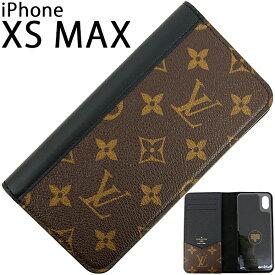 ルイヴィトン アイフォンケース IPHONE XS MAX フォリオ モノグラム ブラック レザー LOUIS VUITTON ビトン メンズ レディース 本革 IPHONE ケース スマホケース アイフォン XS MAX IPHONEXS MAX マックス カバー 手帳型 カード収納 ブランド プレゼント 新作 新品 送料無料