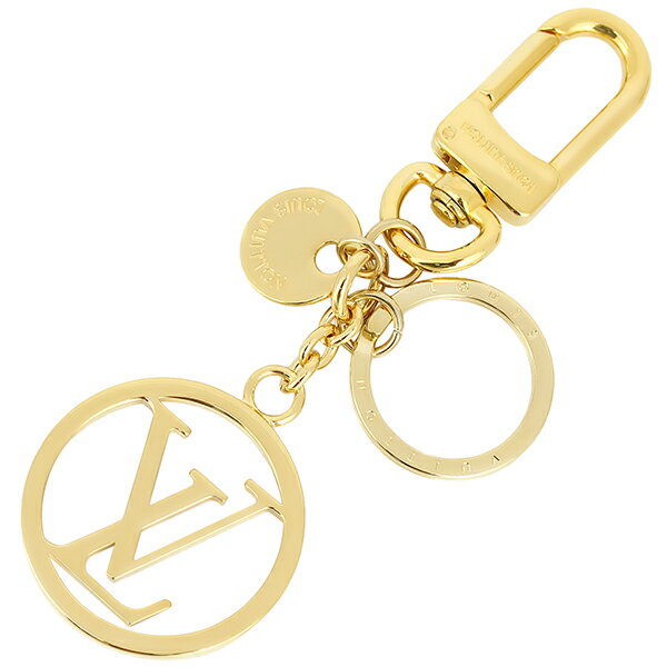 【全品5%OFF】 ルイヴィトン バッグチャーム・LVサークル キーホルダー キーリング ゴールド アクセサリー ロゴ LOUIS VUITTON ルイ・ヴィトン ビトン メンズ レディース 小物 ブランド