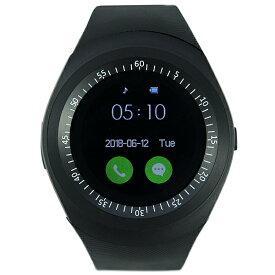 E-SPACE スマートウォッチ 40mm メンズ レディース 腕時計 ラバーベルト ESP05WT ブラック系 Wifiテザリング Bluetoothテザリング 通話可能 Android4.4 ブルートゥース アンドロイド ビッグフェイス おしゃれ デジタル腕時計 ブランド ギフト プレゼント 新品 送料無料