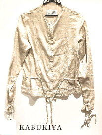 Martin Margela マルタン マルジェラブルゾン ジャケット 上着 グレー系 灰色 レディース 人気ブランド【中古】xx17-11776YU